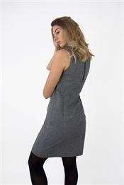 Kuva Baldwin Dress Black/Grey