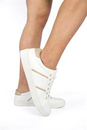 Kuva Janni Sneaker White/Gold